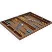 Trademark - Terra Wildlife Conservation Collection Zoo Birds Wood Backgammon Set