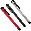 Fosmon - 3 Pack Stylus Touch Screen Pen for Apple iPhone 5 - Black - Black