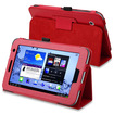 "eForCity - Leather Case Cover with Stand for Samsung Galaxy® Tab 2 7.0"" - Red"