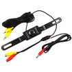 AGPtek - Waterproof High Definition Car Vehicle Backup View Camera for Rear View Monitor