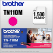 Brother - Tn110M 1500 Pages Magenta Toner Cartridge For Brother Mfc-9440Cn, Dcp-9040Cn, Hl-4040Cn,.. Printers - Magenta