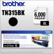 Brother - TN315 High Yield Black Toner - Black