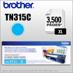 Brother - Tn315C Cyan Toner (Approx. 3.5K Pages) - Cyan