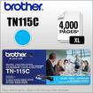 Brother - TN115C XL High-Yield Toner Cartridge - Cyan