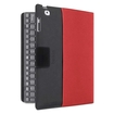 Belkin - YourType Keyboard/Cover Case (Folio) for iPad, - Black, Red