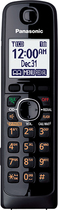 Panasonic - DECT 6.0 Cordless Expansion Handset for Select Expandable Phone Systems - Black