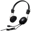 Connectland - Computer/Audio Headset with Microphone Over the Head On the Ear