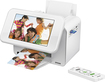 Epson - PictureMate Show Photo Printer and Digital Photo Frame - White