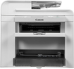 Canon - imageCLASS D550 Black-and-White Laser Printer - White