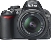 Nikon - D3100 Digital SLR Camera + 18-55mm G VR DX AF-S Zoom Lens - Black