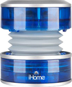 iHome - CrystalTunes Portable Multimedia Speaker - Blue - Blue