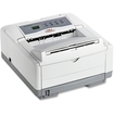 Oki - B4000 LED Printer - Monochrome - 1200 x 600 dpi Print - Plain Paper Print - Desktop - Beige