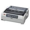 Oki - Dot Matrix Printer - Monochrome - 700 Character Per Seconds - 288 x 72 dpi - Parallel, USB - AC 120V - White