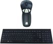 Gyration - Wireless USB Optical Air Mouse GO Plus and Keyboard - Black/Gray