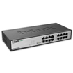 D-Link - 16-Port 10/100/1000 Gigabit Ethernet Switch - Black