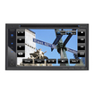 Clarion - Vx401 6.2 Inch Double-Din Multimedia Control Station w/ USB Port & Built-In Bluetooth