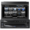 Clarion - Vz401 7 Inch Single-Din Multimedia Control Station w/ USB Port & Built-In Bluetooth