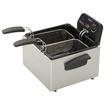 Presto - ProFry Dual Basket Deep Fryer - Black/Stainless-Steel