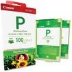 Canon - Laser Printer - Consumables 1335B001 E-P100 100-Sheet 4X6 Easy Photo