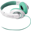 SYBA Multimedia - Teal Circumaural Headset with 40mm Speaker Driver (CL-AUD63035) - Teal, White - Teal, White