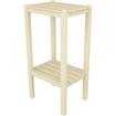Poly-Wood - Two Shelf Bar Side Table - Sand - Sand