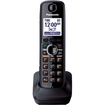 Panasonic - Refurbished - 1.9GHz DECT 6.0 Eco-Friendly Cordless Phone - Black - Black