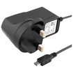 eForCity - UK Plug Micro-USB Cell Phone Travel Charger compatible with Galaxy S3
