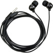 eForCity - In-Ear Headset (Ball-head Shape) w On-off & Mic for Galaxy S3 - Black - Black