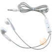 eForCity - Universal 3.5mm Headset w On-off & Mic compatible with Galaxy S3 - White - White