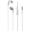 iLuv - High-Performance Earphones with SpeakEZ Remote for Smartphones - White - White
