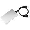 eForCity - 2.5 inch SATA HDD Enclosure - Silver