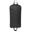 "WallyBags - Style 1705 45"" Slim Garment Bag - Denier Polyester - Black - Black"