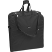 "WallyBags - 52"" Shoulder Strap Bag - 52"" x 22"" x 3"" - Twill Polyester - Black"