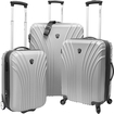 Traveler's Choice - Cape Verde Travel/Luggage Case (Suitcase) for Travel Essential - Silver