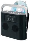 Jensen - Portable CD/CD-R/RW Player with AM/FM Radio - Black - Black