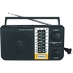 Supersonic - 5 Band AM/FM/SW1/SW2/TV Radio - Black