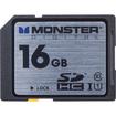Monster - 16B Vault FSD-0016 Secure Digital High Capacity (SDHC) Card