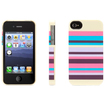 Griffin Technology - Multi-Color Snappy Stripes Case for iPhone 4/4s - Multi Color