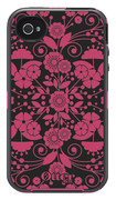 OtterBox - Defender Series Case for Apple® iPhone® 4 and 4S - Perennial