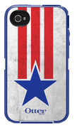 OtterBox - Defender Series Case for Apple® iPhone® 4 and 4S - Stars and Stripes - Stars and Stripes