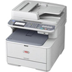 Oki - LED Multifunction Printer - Color - Plain Paper Print - Desktop