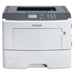 Lexmark - MS610DN Laser Printer - White