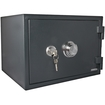 LockState - LS-30J Fireproof Combination Safe - Gray