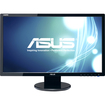 Asus - VE247H Widescreen LCD Monitor - Black - Black