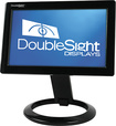 "DoubleSight - Smart 7"" USB Flat-Panel LCD Monitor - Black"