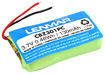 Lenmar - Lithium-Polymer Battery for Select Plantronic Cordless Phones - Green