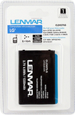Lenmar - Lithium-Ion Battery for Most LG Mobile Phones - Black