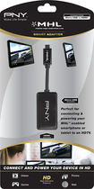 PNY - USB/HDMI AV/Data Transfer Cable f/ Cellular Phone, Tablet PC, TV, Audio/Video Device, Gaming Console