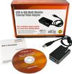 Startech - USB to VGA Multi Monitor External Video Adapter - Gray