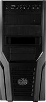 Cooler Master - Elite 431 Plus ATX/Micro ATX Tower Case - Black